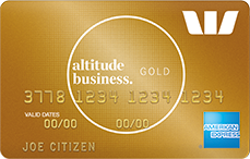 Altitude Business Gold Amex rewards credit card