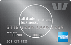 Altitude Business Platinum Amex rewards credit card