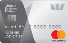 Altitude Business Platinum Visa rewards credit card
