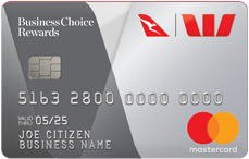 BusinessChoice Rewards credit card