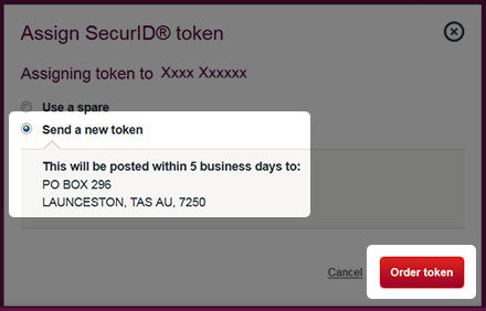 Step 4 - Send a new token