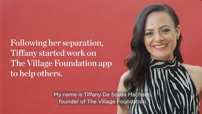 Find out how Tiffany's separation led to helping others.