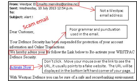 Image result for scam e-mail