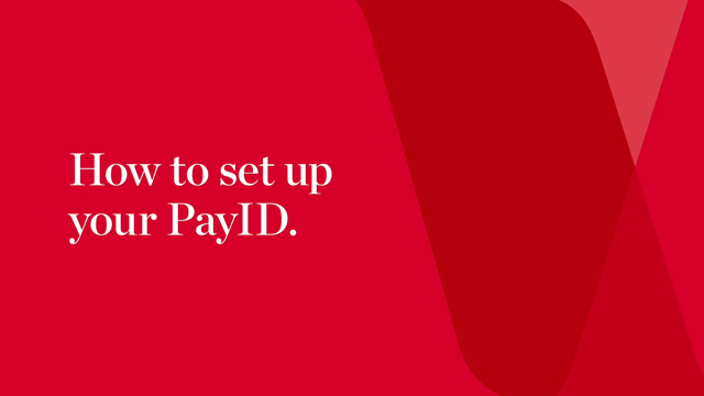 How to set up a PayID