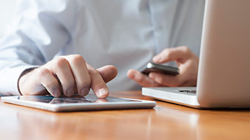 corporate online customers