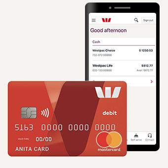 Bank Account with Debit Card - Westpac Choice   Westpac