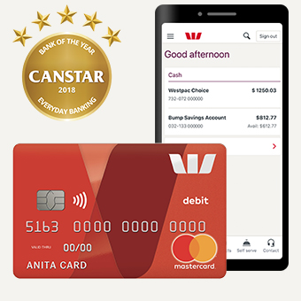 Able Accounts Offer New Choice For >> Bank Account With Debit Card Westpac Choice Westpac