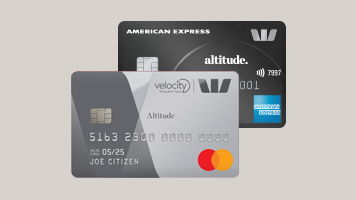 American Express Westpac Altitude Blended Bundle Velocity credit cards