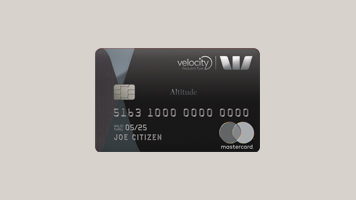 Westpac Altitude Black Velocity credit card