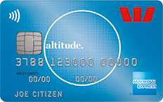 Westpac Altitude American Express rewards card