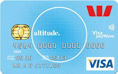 Westpac Altitude Visa rewards card
