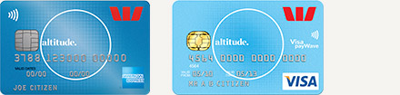 Westpac Altitude American Express & Visa rewards cards