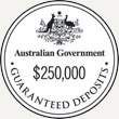 Australian Government $250,00 Guaranteed Deposits