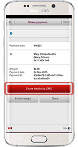 Pay to Mobile | Westpac