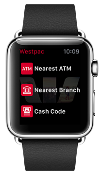 Apple Watch - We're your bank on your sleeve