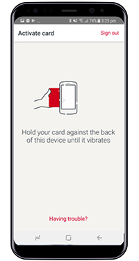 Activate your card on your mobile   Westpac