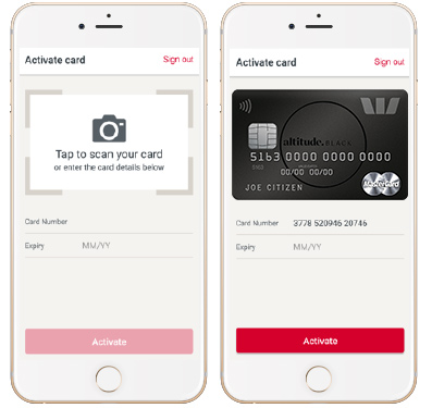 Activate your card on your mobile | Westpac